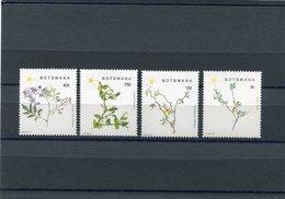 BOTSWANA 1988 TREE BRANCHES M.447/450 MNH. - Botswana (1966-...)
