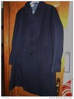 Beau MANTEAU/PARDESSUS  Avec Doublure Pied De Poule Amovible- MA-GE-CO 1991 Taille 50 (comme  Neuf) - Uniformen