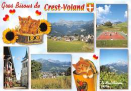 CREST VOLAND 1230m Station Ete Hiver Au Coeur Du VAL D ARLY 11(scan Recto-verso) MA610 - Andere Gemeenten