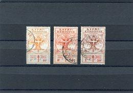 ETHIOPIA 1951 M.305/307/308CTO - Ethiopië
