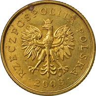 Monnaie, Pologne, 5 Groszy, 2003, Warsaw, TTB, Laiton, KM:278 - Pologne