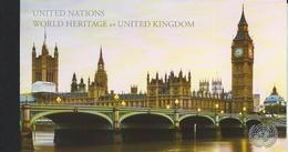 UN-New York. Scott # 1201a-j, MNH Prestige Booklet. World Heritage UK. 2018 - Booklets