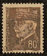 1941-42 Variété Claire Du Y&T 512 Obl - Curiosities: 1941-44 Mint/hinged