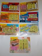 7 Billets De Loterie Instantanée.Portugal - Billetes De Lotería