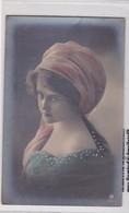 JOVEN JEUNNE FEMME YOUNG LADY. COLORISE. ETUDE PHOTOGRAPHIQUE CIRCA 1910, POSTCARD- BLEUP - Fotografie