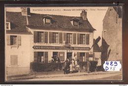 429D78  FONTENAY ST PERE MAISON LE CARDINAL TABAC  NC  TTB - Frankrijk
