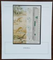 Angola - YT BF N°17 Sur Document - Faune Préhistorique - Neuf - 1994 - Angola