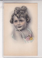 PETIT FILLE NIÑA GIRL, COLORISE, CECAMI. VINTAGE . ETUDE PHOTOGRAPHIQUE CIRCA 1910- BLEUP - Fotografie