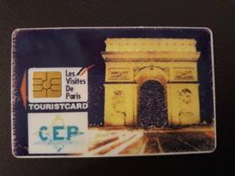 Touristcard CEP CE PARIS CCF - Frankreich