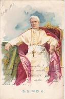 SS PIO X PAPA POPE. VOYAGE YEAR 1903- BLEUP - Pausen