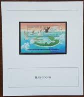 Iles Cocos - YT BF N°15 Sur Document - Exposition Philatélique Internationale - Neuf - 1995 - Cocos (Keeling) Islands
