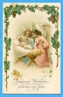 Natale Noel Weihnachten Christmas  Angeli Anges Engeln Angels Jesus - Angeli
