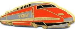 TGV. Motrice Rouge - TGV