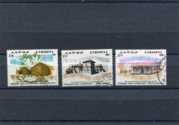 ETHIOPIA 1972 M.706/710 Short Serie CTO - Ethiopië