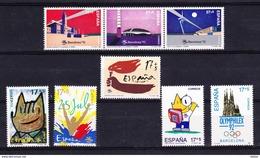 Spanje 1992 Nr 2809/16 ** Zeer Mooi Lot K238 - Francobolli