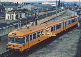 Autorail X 4792 Quittant La Gare De Sotteville-les-Rouen (76)  - - Sotteville Les Rouen