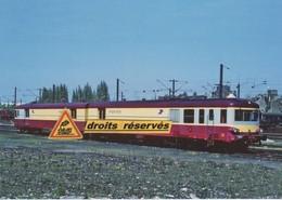 Rame Automotrice Postale XP 94757 à Lille-Fives (59)  - - Trains