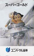 Télécarte Japon / 110-79224 - MANGA - TEZUKA  - ASTRO BOY - ANIME BD COMICS Japan Space Phonecard TK - 10680 - Comics
