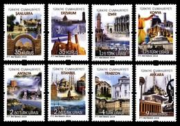 Turkey 2014 Mih. 4109/16 Tourism. Cities MNH ** - Nuevos