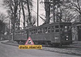 Motrice Thomson Avec Remorque Du Tramway De Villiers-le-Bel (95)  - - Villiers Le Bel