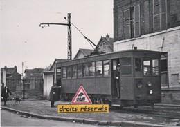 Motrice Thomson Du Tramway De Villiers-le-Bel (95)  - - Villiers Le Bel