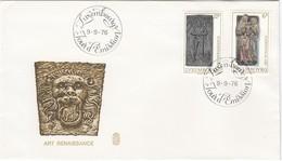 LUXEMBURG 1976 - MiNr: 933-934 FDC Art Renaissance - FDC