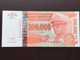 ZAIRE P77 100000 NOUVEAU ZAIRE 1996 UNC - Zaire
