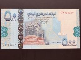 YEMEN ARAB REP P31 500 RIALS 2001.2003 UNC - Yémen