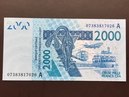 WEST AFRICAN STATES P116Aa 2000 FRANCS 2003 UNC - West African States