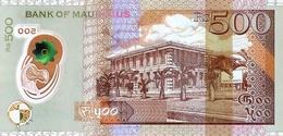 MAURITIUS P. 66b 500 R 2016 UNC - Maurice