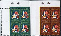 Portugal 830-831 Blocks/4,MNH.Mi 862-863. Universal Exposition Brussels-1958. - 1958 – Brussels (Belgium)