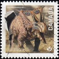 CANADA - Scott #2826 Chasmosaurus Belli / Used - Stamps