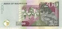 MAURITIUS P. 61b 200 R 2013 UNC - Maurice
