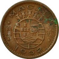 Monnaie, Macau, 10 Avos, 1952, TTB, Bronze, KM:2 - Macao