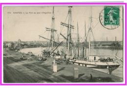 23018  CPA  NANTES : Le Pont Au Quai D' Aiguillon  ! 1908 !!     ACHAT DIRECT !! - Nantes