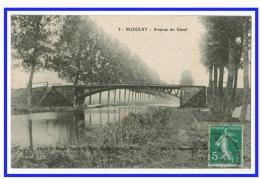 22945   CPA  MOUZAY : Avenue Du Canal ! 1911 !! Pas Courante ! - France