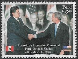 Peru 2008 Treaty With USA 6s Good/fine Used [38/31424/ND] - Peru
