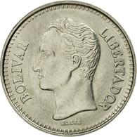 Monnaie, Venezuela, 25 Centimos, 1990, TTB, Nickel Clad Steel, KM:50a - Venezuela