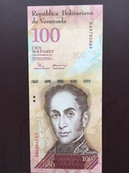 VENEZUELA P93 100 BOLIVARES 2008 UNC - Venezuela