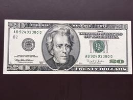 UNITED STATES P501 20 DOLLARS 1996 UNC - Billets De La Federal Reserve (1928-...)