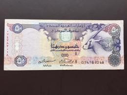 U.A.E P26 50 DIRHAMS 2004 AUNC - Emirats Arabes Unis