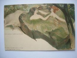 (Fontainebleau) La Roche Qui Tremble. Carte éditée Par Killinger (n° 132) Vers 1900, état SUP. - Illustrateurs & Photographes