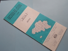 MEERLE 2/7-8 ( M834 ) Uitgave 3 Anno 1985 - Schaal / Echelle / Scale 1: 25.000 ( Zie Foto's ) België ! - Europe