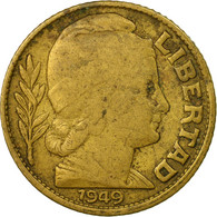 Monnaie, Argentine, 10 Centavos, 1949, TB+, Aluminum-Bronze, KM:41 - Argentine