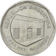 Monnaie, Argentine, 10 Australes, 1989, TTB, Aluminium, KM:102 - Argentine