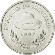 Monnaie, Nicaragua, 25 Centavos, 1987, TTB, Aluminium, KM:57 - Nicaragua