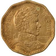 Monnaie, Chile, 50 Pesos, 1991, TTB, Aluminum-Bronze, KM:219.2 - Chile