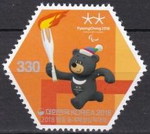 South Korea KPCC2612 2018 PyeongChang Winter Paralympics, Torch Realy, Jeux Paralympiques - Winter 2018: Pyeongchang