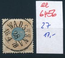 Schweden Nr. 27   O-Stempel   (ee6456 ) Siehe Scan - Oblitérés