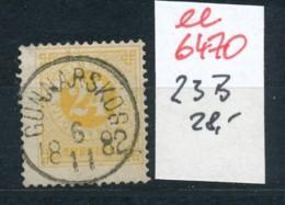 Schweden Nr. 23 B   O-Stempel   (ee6470 ) Siehe Scan - Oblitérés